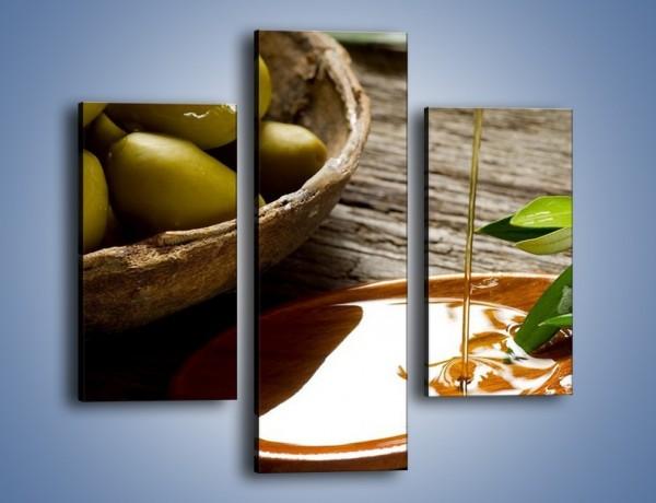 Obraz na płótnie – Bogactwa wydobyte z oliwek – trzyczęściowy JN270W3