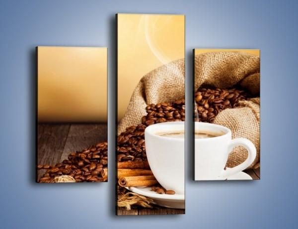 Obraz na płótnie – Zaproszenie na pogaduchy przy kawie – trzyczęściowy JN320W3
