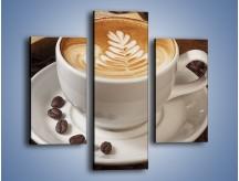 Obraz na płótnie – Czas na kawę – trzyczęściowy JN353W3