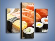 Obraz na płótnie – Azjatyckie posiłki – trzyczęściowy JN355W3