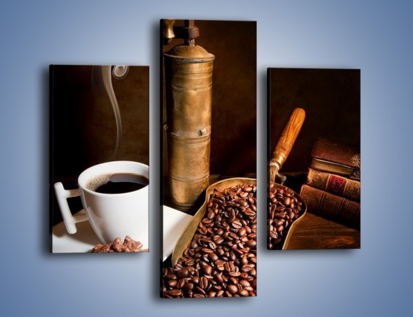 Obraz na płótnie – Opowieści przy mocnej kawie – trzyczęściowy JN360W3