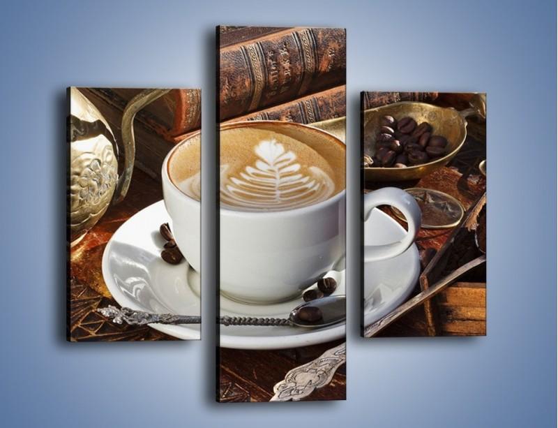 Obraz na płótnie – Wspomnienie przy kawie – trzyczęściowy JN377W3