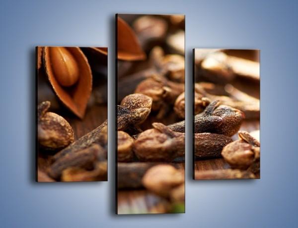 Obraz na płótnie – Dodatki idealne do kawy – trzyczęściowy JN379W3