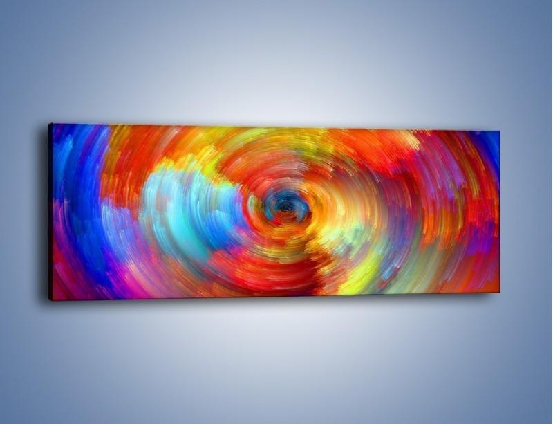 Obraz na płótnie – Kolorowy wir – jednoczęściowy panoramiczny GR502