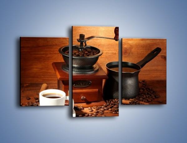 Obraz na płótnie – Młynek do kawy – trzyczęściowy JN437W3