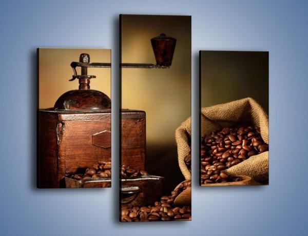 Obraz na płótnie – Kawa dobrze przechowywana – trzyczęściowy JN476W3