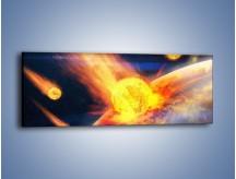 Obraz na płótnie – Atak kula ognia – jednoczęściowy panoramiczny GR532