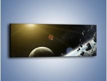 Obraz na płótnie – Dotrzeć między planety – jednoczęściowy panoramiczny GR534