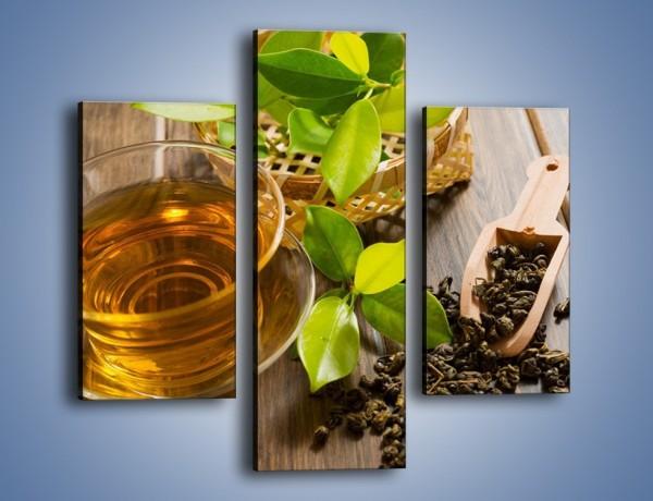 Obraz na płótnie – Herbata mięta i nie tylko – trzyczęściowy JN592W3