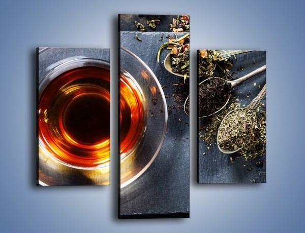 Obraz na płótnie – Herbata i inne dodatki – trzyczęściowy JN596W3