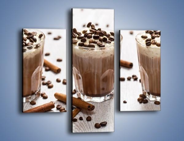 Obraz na płótnie – Mrożona kawa na upały – trzyczęściowy JN609W3