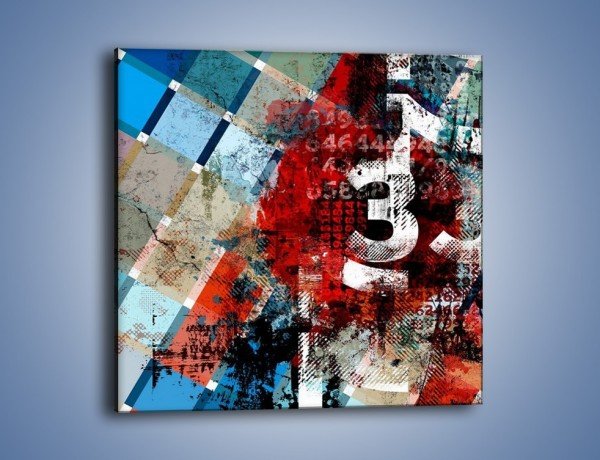 Obraz na płótnie – Znaleźć ukryty kod – jednoczęściowy kwadratowy GR465