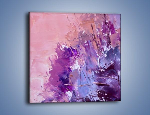 Obraz na płótnie – Mocna barwa fioletu – jednoczęściowy kwadratowy GR472