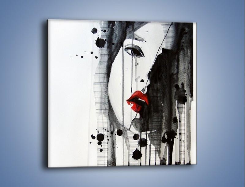 Obraz na płótnie – Ostatni kobiecy oddech – jednoczęściowy kwadratowy GR479