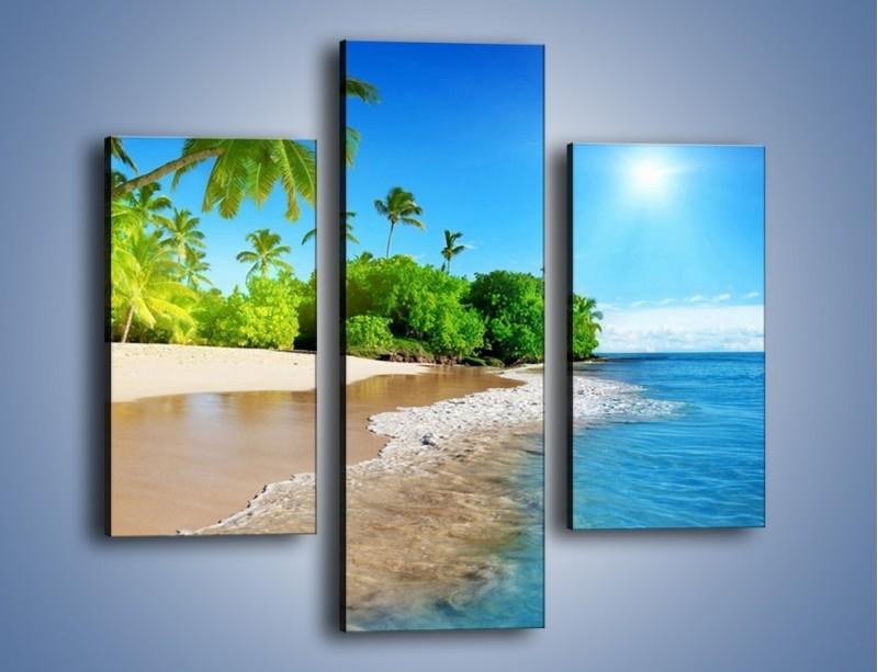 Obraz na płótnie – Bajeczne wakacyjne wspomnienia – trzyczęściowy KN1110AW3