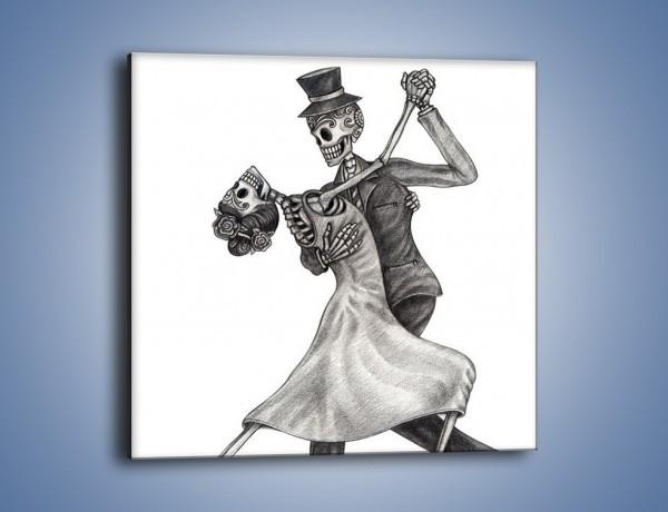 Obraz na płótnie – Tango wśród nieżywych – jednoczęściowy kwadratowy GR496