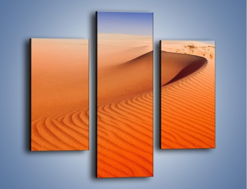 Obraz na płótnie – Pustynny żar – trzyczęściowy KN305W3
