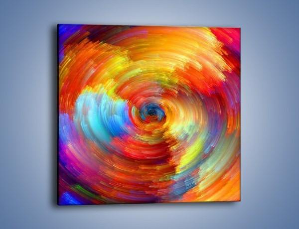 Obraz na płótnie – Kolorowy wir – jednoczęściowy kwadratowy GR502
