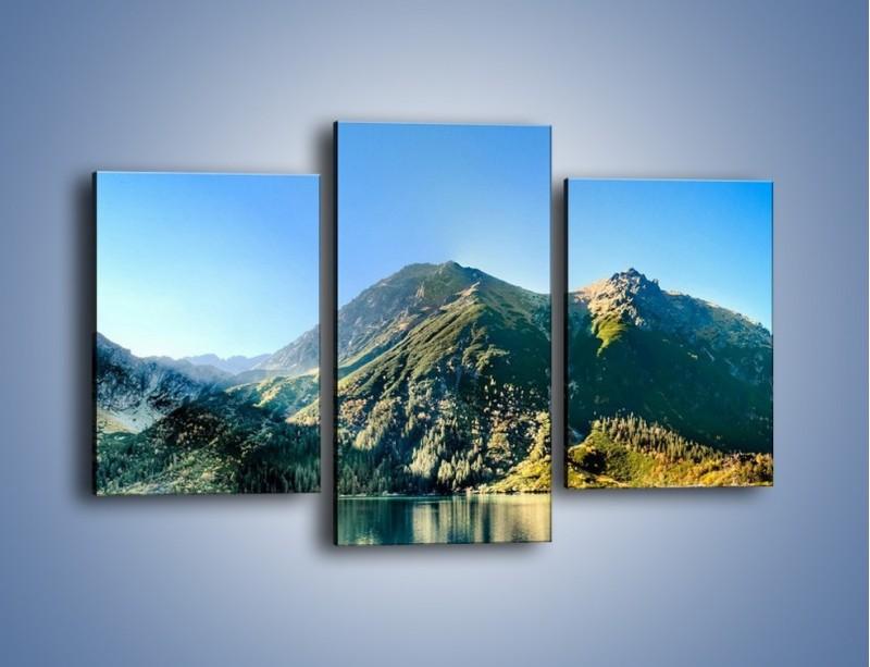 Obraz na płótnie – Chłodny klimat górski – trzyczęściowy KN844W3