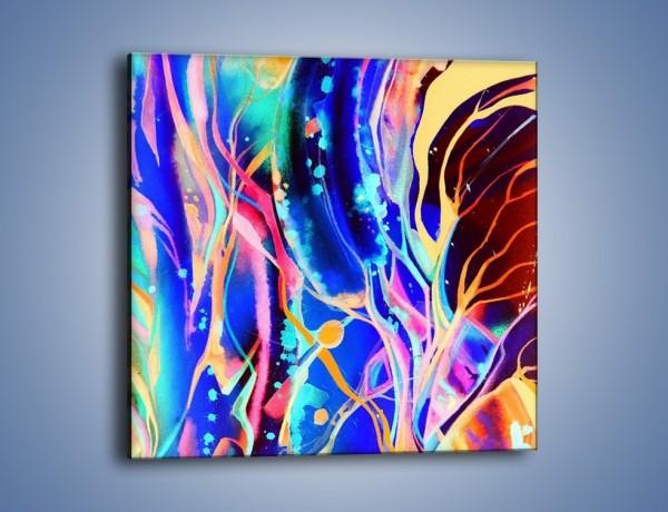 Obraz na płótnie – Musnąć kolorem na papierze – jednoczęściowy kwadratowy GR512