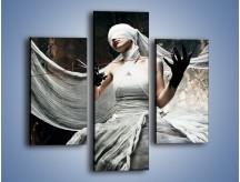 Obraz na płótnie – Dama w białych bandażach – trzyczęściowy L278W3