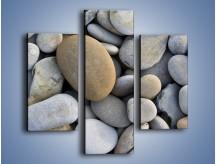Obraz na płótnie – Kamienie duże i małe – trzyczęściowy O006W3