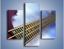 Obraz na płótnie – Gitara z bliska – trzyczęściowy O088W3