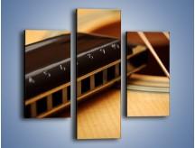 Obraz na płótnie – Instrumenty z drewna – trzyczęściowy O108W3