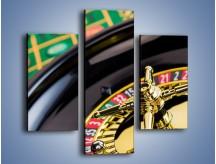 Obraz na płótnie – Czas drogocenny w kasynie – trzyczęściowy O238W3