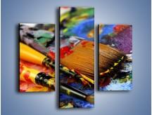 Obraz na płótnie – Kolory ze sobą zmieszane – trzyczęściowy O251W3