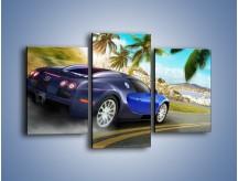 Obraz na płótnie – Bugatti Veyron – trzyczęściowy TM123W3