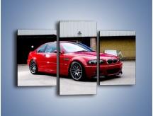 Obraz na płótnie – BMW M3 E46 Coupe – trzyczęściowy TM125W3