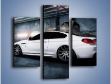 Obraz na płótnie – BMW M6 F13 w garażu – trzyczęściowy TM165W3