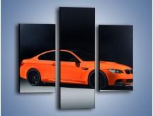Obraz na płótnie – BMW M3 E92 Coupe Orange – trzyczęściowy TM168W3