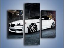 Obraz na płótnie – BMW M6 F13 Vossen Wheels – trzyczęściowy TM169W3