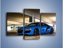 Obraz na płótnie – Audi R8 – trzyczęściowy TM180W3