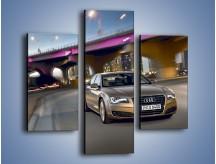 Obraz na płótnie – Audi A8 – trzyczęściowy TM188W3