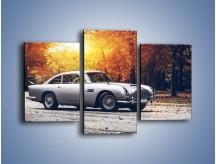 Obraz na płótnie – Aston Martin DB5 – trzyczęściowy TM208W3