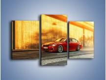Obraz na płótnie – BMW 3 F36 – trzyczęściowy TM235W3