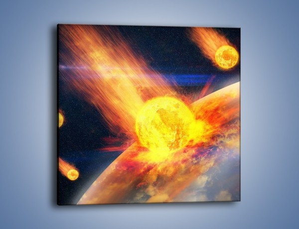 Obraz na płótnie – Atak kula ognia – jednoczęściowy kwadratowy GR532