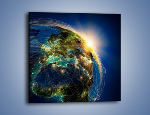 Obraz na płótnie – Światełko na świat – jednoczęściowy kwadratowy GR533