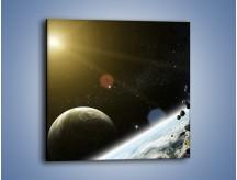 Obraz na płótnie – Dotrzeć między planety – jednoczęściowy kwadratowy GR534