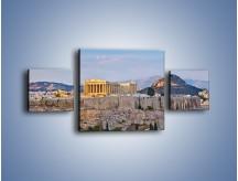 Obraz na płótnie – Ateńskie ruiny – trzyczęściowy AM162W4