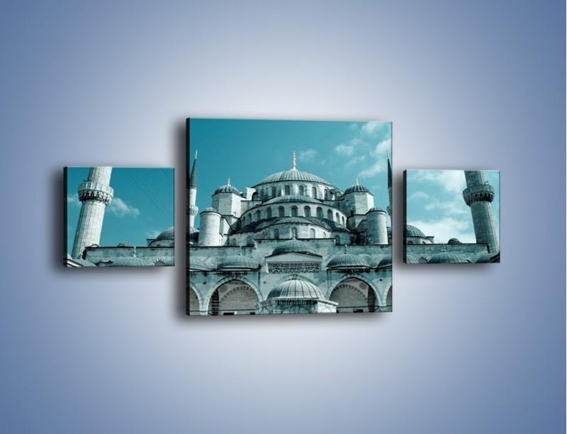 Obraz na płótnie – Taj Mahal – trzyczęściowy AM175W4