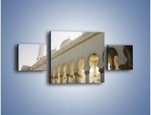 Obraz na płótnie – Bliskowschodnia architektura – trzyczęściowy AM177W4