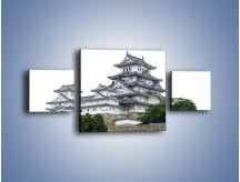 Obraz na płótnie – Azjatycka architektura – trzyczęściowy AM181W4