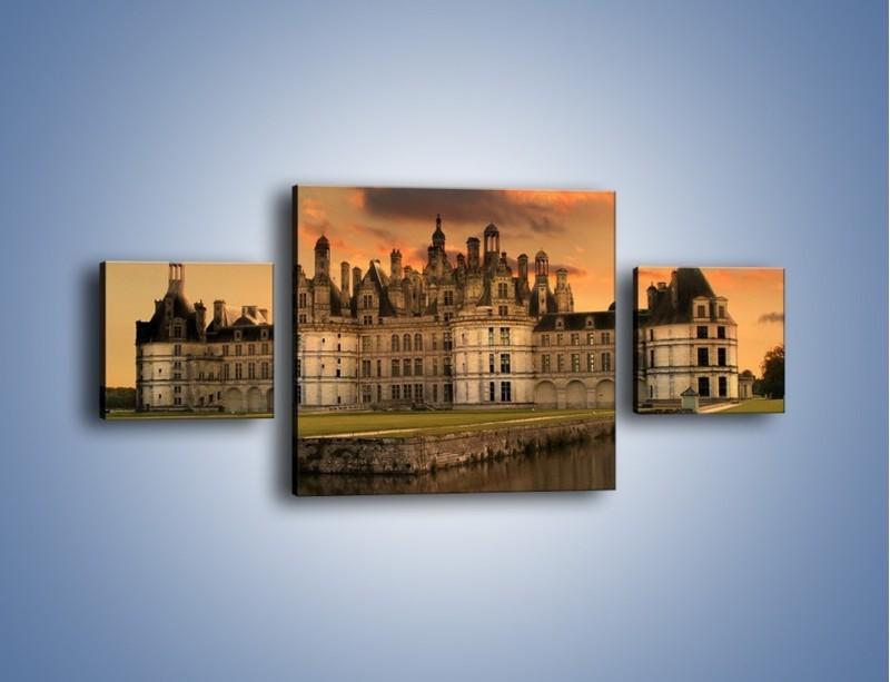 Obraz na płótnie – Stary zamek – trzyczęściowy AM200W4