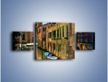 Obraz na płótnie – Cały urok Wenecji w jednym kadrze – trzyczęściowy AM371W4