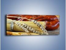 Obraz na płótnie – Chleb pszenno-kukurydziany – jednoczęściowy panoramiczny JN090