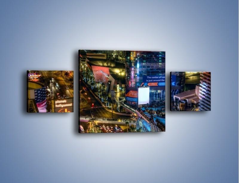 Obraz na płótnie – Cosmopolitan of Las Vegas – trzyczęściowy AM577W4
